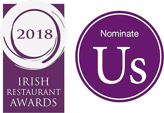 nominate ORSO for one or more of the 2018 Irish Restaurant Awards