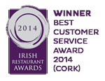 Winner: Best Customer Service Award (Cork) 2014
