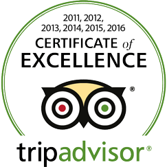 tripadvisor: Certificate of Excellence 2011–2016