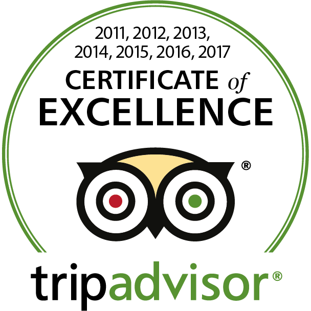tripadvisor: Certificate of Excellence 2011–2017