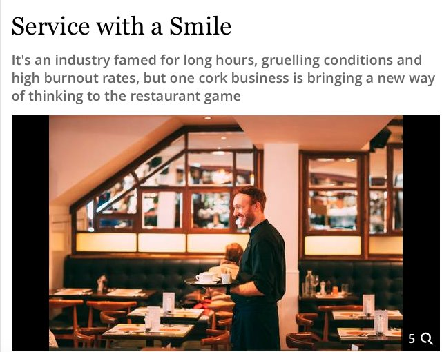 Independent article on Market Lane Group of restaurants