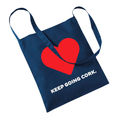 Market Lane Keep Going Cork Tote Bag
